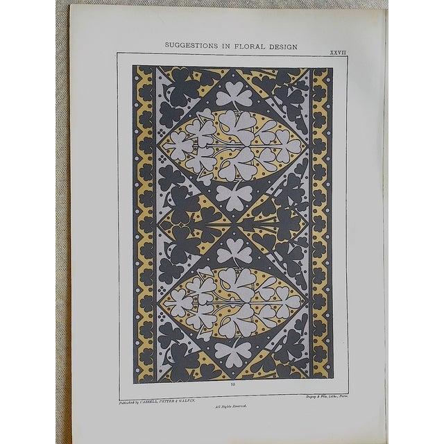 Ornamental Design Folio Size Chromolithograph - a Pair - Image 4 of 4