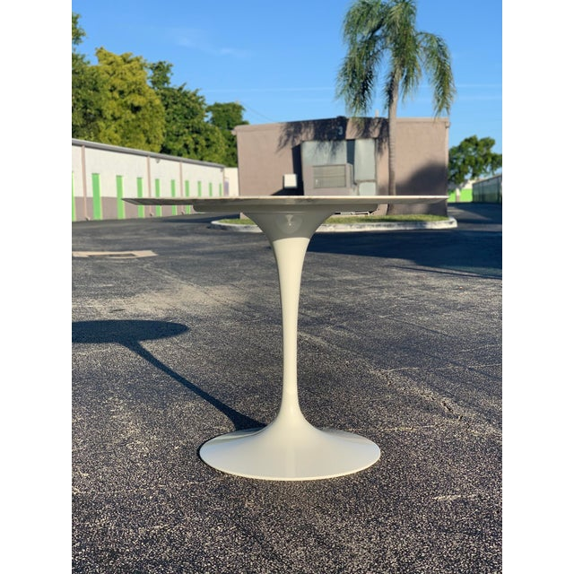 Knoll Mid-Century Modern Eero Saarinen Marble Oval Dining Table for Knoll For Sale - Image 4 of 13