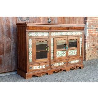 Scalloped Antique Tile Enfilade Buffet Preview