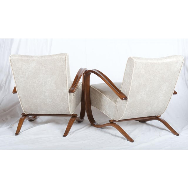 Thonet H269 Lounge Chair by Jindrich Halabala for Thonet, 1930s - A Pair For Sale - Image 4 of 11