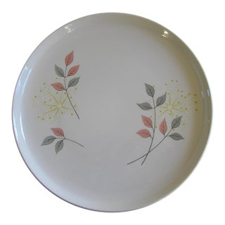 Vintage Mid Century Franciscan China Dinner Plate or Platter For Sale