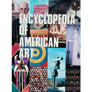Encyclopedia of American Art Coffee Table Book For Sale