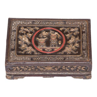 19th Century Chinese Eternal Love Offering Box For Sale