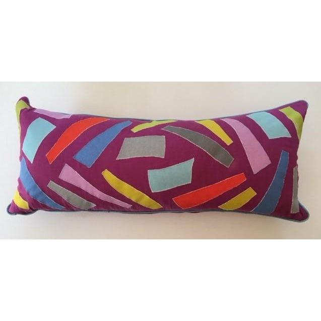 Patchwork Lumbar Pillow - Image 2 of 4