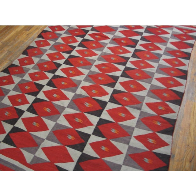 1900 - 1909 1900s Antique Navajo Style Rug For Sale - Image 5 of 6