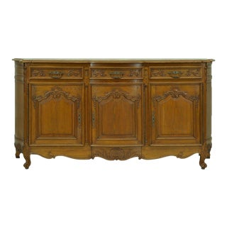 1920s Vintage French Country Oak Sideboard