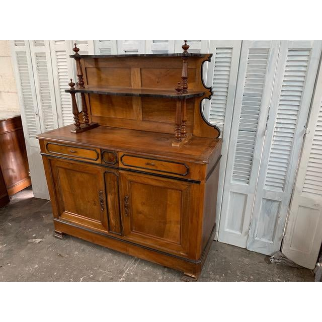 Wood 19th Century French Country Buffet For Sale - Image 7 of 9