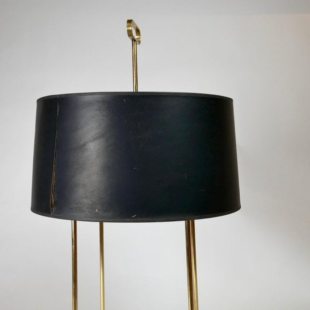 Gold Tommi Parzinger Originals Model 19 Table Lamp in Brass For Sale - Image 8 of 12