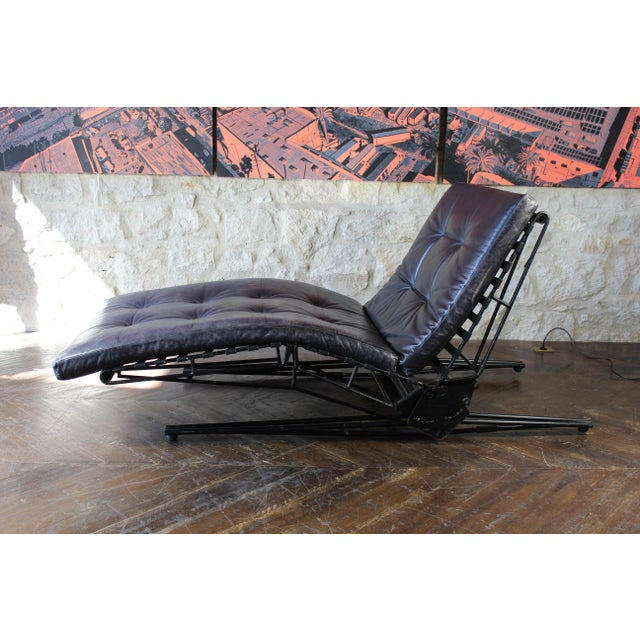 Italian Osvaldo Borsani Chaise Lounge For Sale - Image 3 of 11