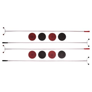 Mid-Century Shuffleboard Set, 12 Pieces For Sale