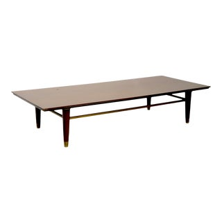 Mid Century Coffee Table Bench After McCobb For Sale