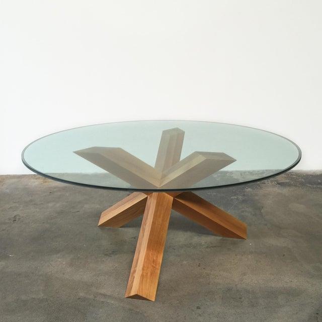 Cassina & Mario Bellini La Rotonda Glass Dining Table - Image 2 of 5