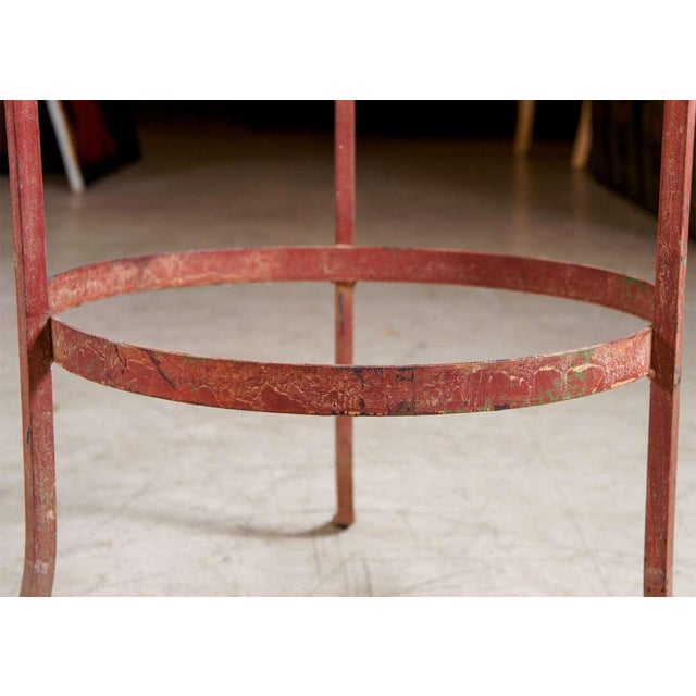 Wrought Iron End Tables - A Pair For Sale In New York - Image 6 of 7