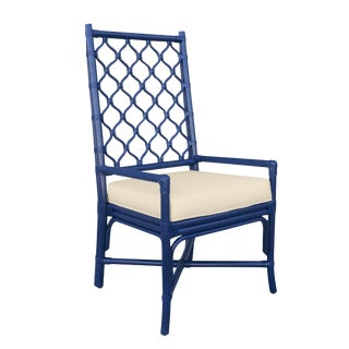 Selamat Designs Blue Ambrose Arm Chair