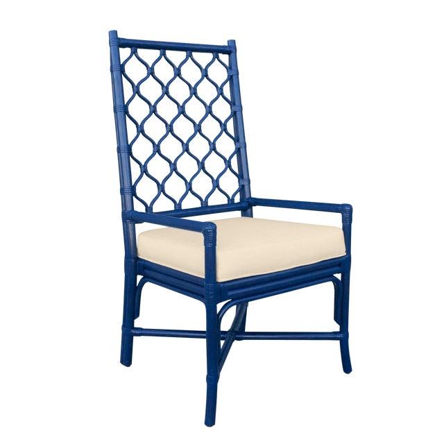 Selamat Designs Blue Ambrose Arm Chair - Image 1 of 2