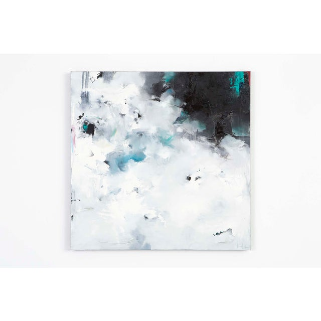 """In this oil painting, we see mystery's veil shrouding our vision. """"Scattered Floes"""" is a more than appropriate title for..."""