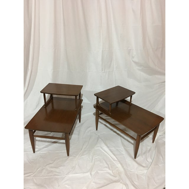 Danish Modern Danish Mid-Century Walnut End Tables - A Pair For Sale - Image 3 of 6