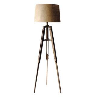 Wood Tripod Floor Lamp For Sale