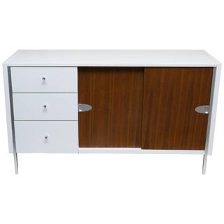 Raymond Loewy for Mengel Furniture Lacquered Credenza For Sale