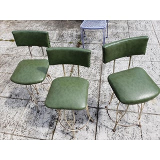 Mid-Century Woodard Bar Stools- Set of 3 Preview