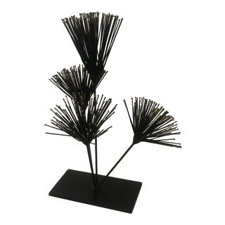 Modern Abstract Spiky Sculpture For Sale