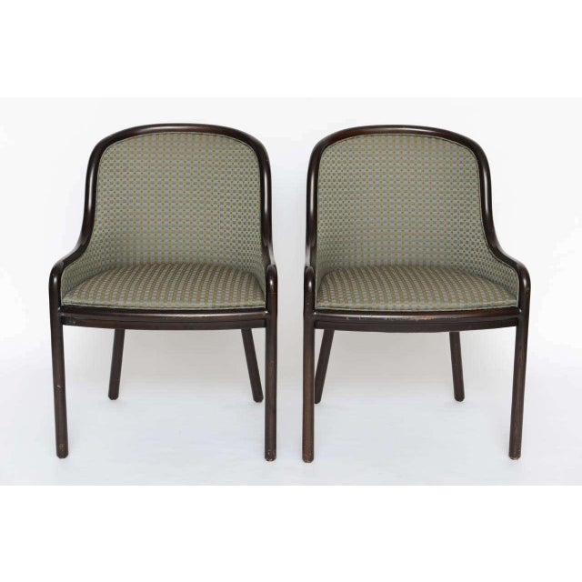 Ward Bennett Pair of Ward Bennett Chairs for Brickell 1970s For Sale - Image 4 of 10