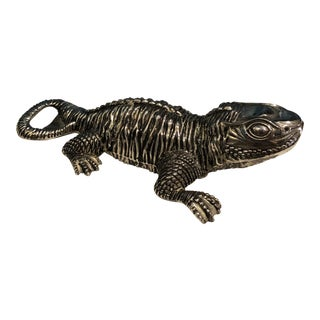 Mid Century Lizard Bottle Opener For Sale