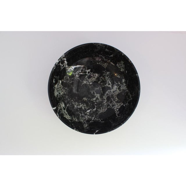 Black Solid Marble Bowl - Image 5 of 5