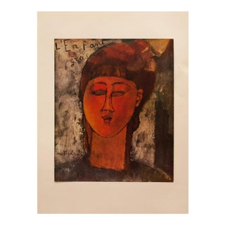 "1958 A. Modigliani, ""Fat Boy"" First English Edition Lithograph For Sale"