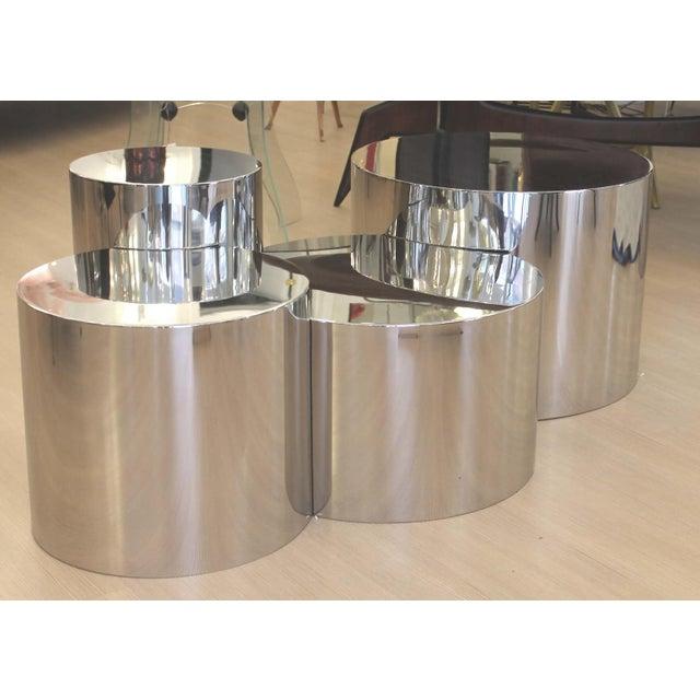 "Modern ""Geometria: Cerchi #4"" Coffee Table For Sale - Image 3 of 12"