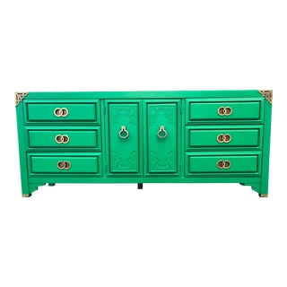 1970s Huntley by Thomasville Asian Inspired Dresser For Sale