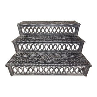 Antique Cast Iron Steps For Sale