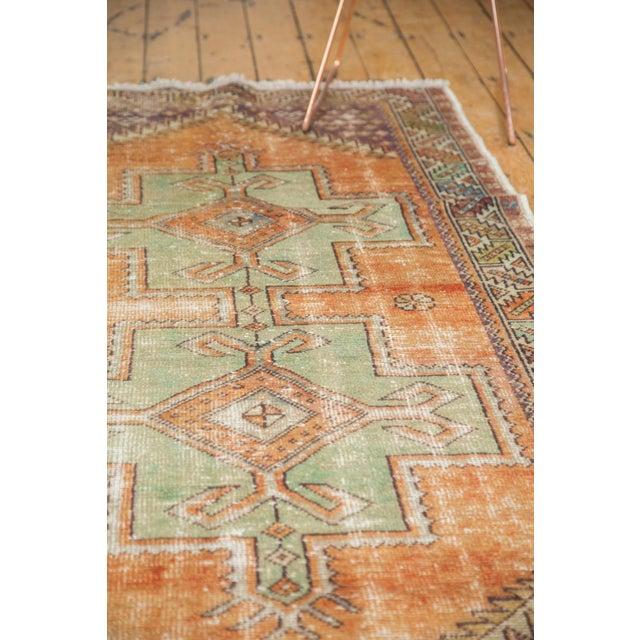 "Copper Vintage Distressed Oushak Rug - 3'11"" X 8'3"" For Sale - Image 8 of 11"