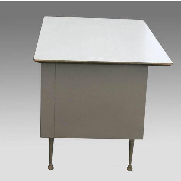 Raymond Loewy Brunswick 4 Drawer Office Desk - Image 6 of 8