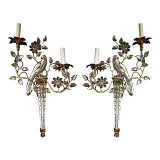 1930s French Bagues Sconces - a Pair For Sale