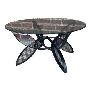 Mid-Century Modern Outdoor Coffee Table For Sale