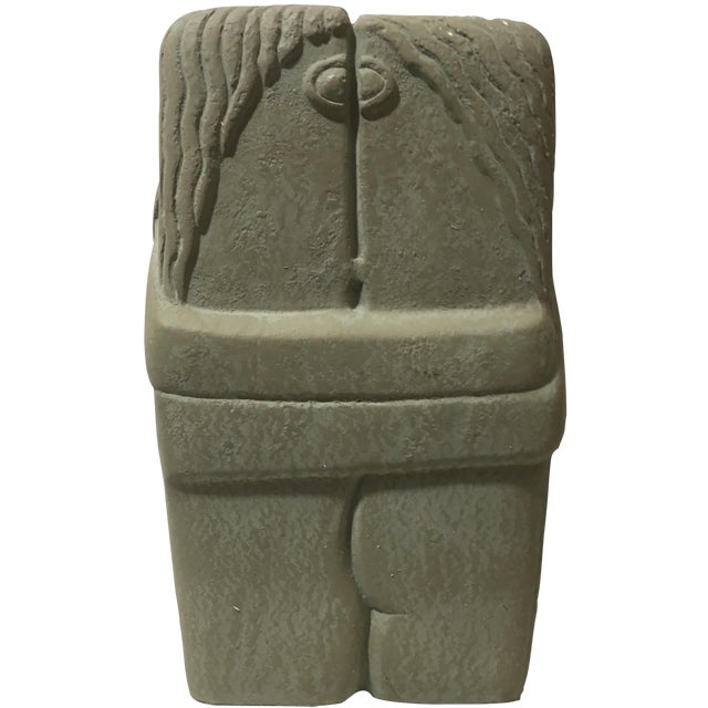 C. Brancusi The Kiss Sculpture Reproduction - Image 1 of 7