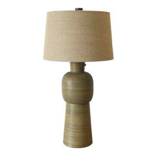 Large Jane and Gordon Martz Ceramic Table Lamp for Marshall Studios For Sale