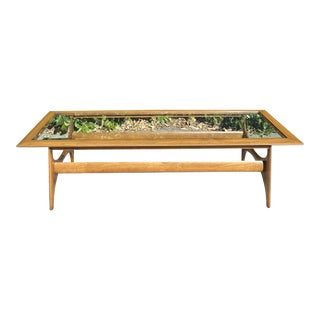 Lane Furniture Mid Century Coffee Table For Sale