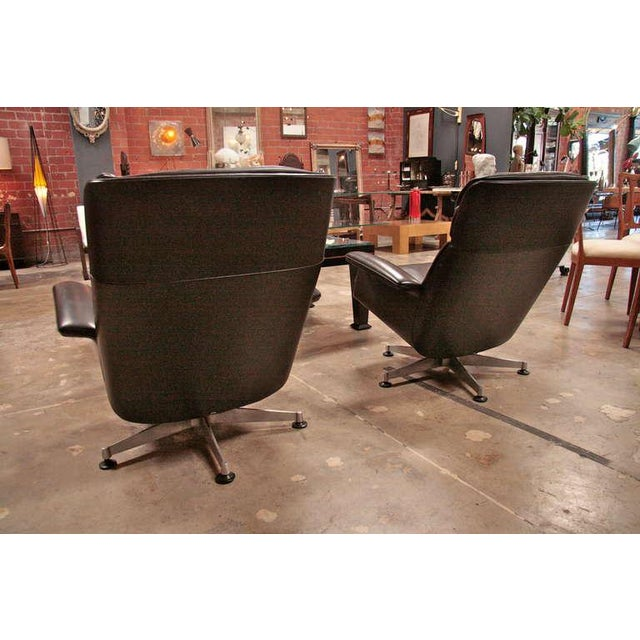 Italian 1970 Swivel Armchairs by Anonima Castelli For Sale In Los Angeles - Image 6 of 11