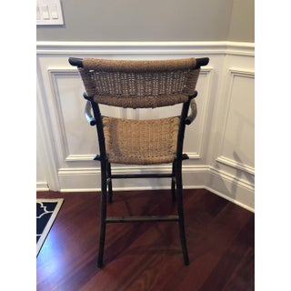 Metal Faux Bamboo Style Counter Stools- Set of 3 Preview