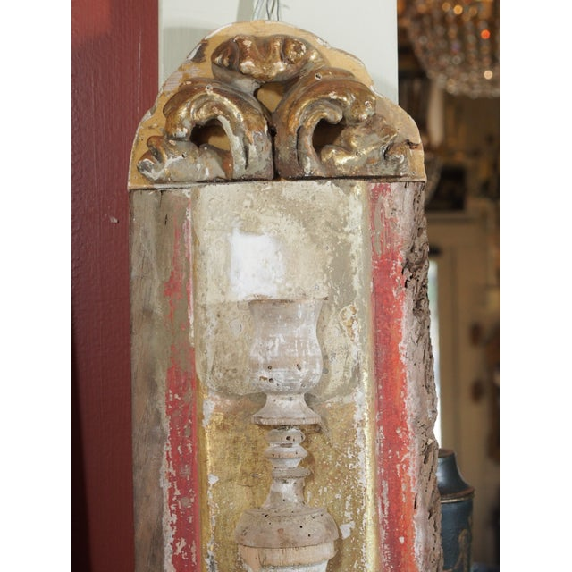 Pair of Architectural Sconces For Sale In New Orleans - Image 6 of 7