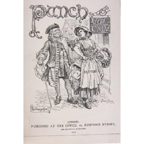 Bound Antique Collections of 'Punch' Magazine - 8 - Image 4 of 8
