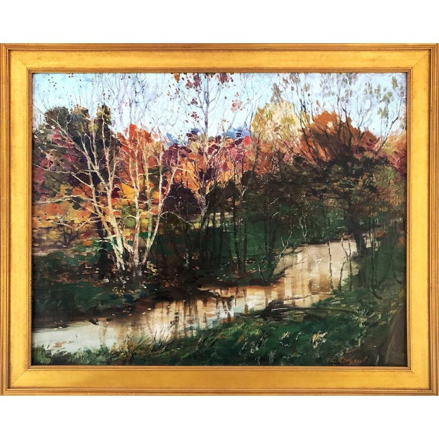 Fall Landscape Oil Painting by Everett Loyd Bryant - Image 1 of 6