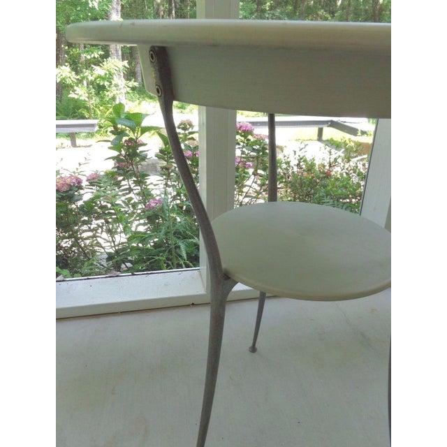 Mid Century Italian Arper Aluminum Table - Image 7 of 10