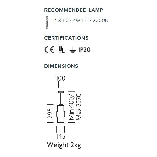 Mid-Century Modern Blown Olive Glass Laguna Pendant Light For Sale - Image 3 of 4