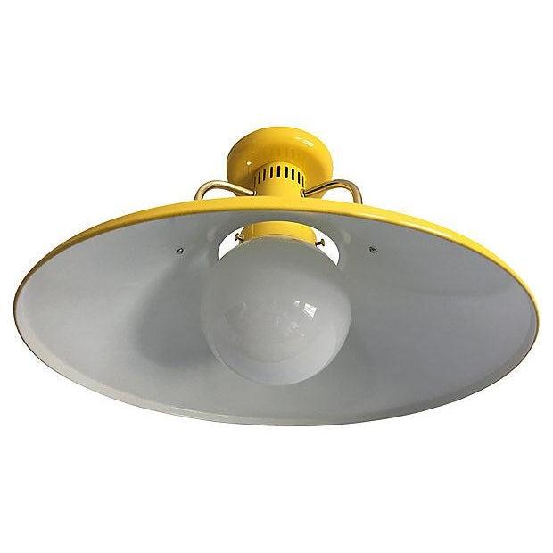 1970s Modern Ceiling Light For Sale - Image 4 of 7