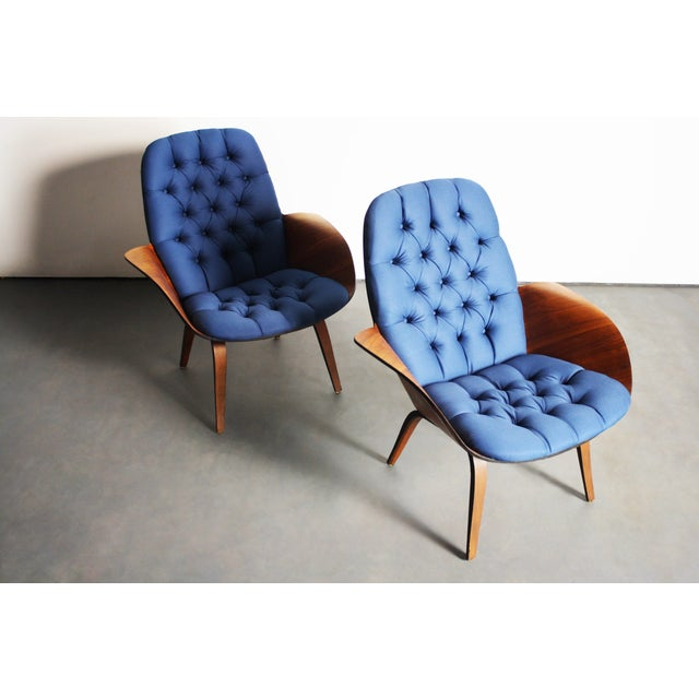 George Mulhauser for Plycraft Lounge Chairs - Pair - Image 3 of 11