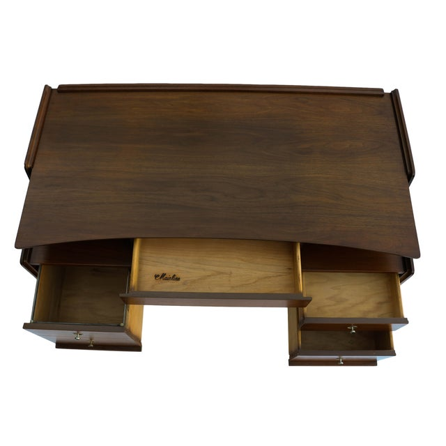 Hooker Mainline Hooker Mid Century Floating Desk For Sale - Image 4 of 10