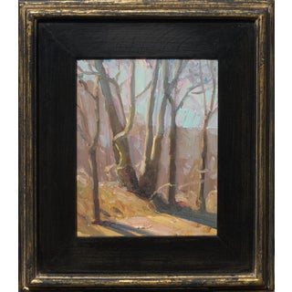 Contemporary Custom Framed Landscape Oil Painting For Sale